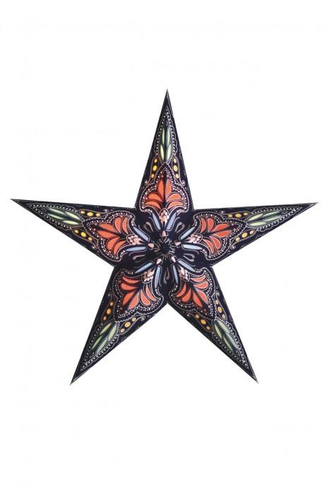 Χειροποίητο αστέρι Οροφής Starlightz Jaipur Blue / Red Medium Earth Friendly 302672