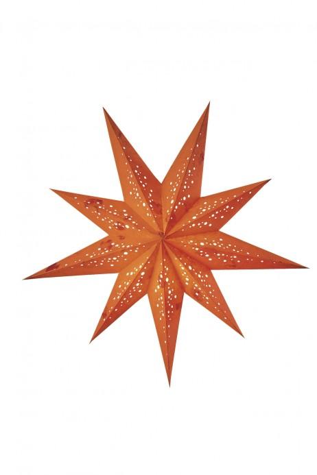 Χειροποίητο αστέρι Οροφής Starlightz Spumante Orange Medium Earth Friendly E01812