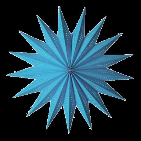 Χειροποίητο αστέρι Οροφής Starlightz Sunny June Turquoise Medium Earth Friendly