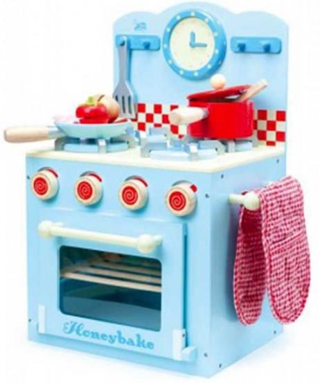 Ξύλινη Κουζίνα Σιέλ Honeybake Le Toy Van TV265