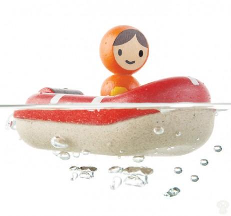Βάρκα της Ακτοφυλακής Plan Toys 5668