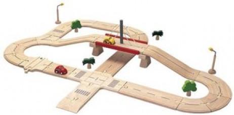 Σύνθετος αυτοκινητόδρομος της Plan Toys