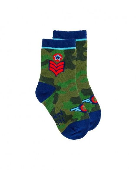 Κάλτσες Παιδικές Airplane Blue Stephen Joseph 101081Z No. 20-23