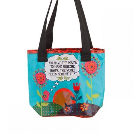 Natural Life ισοθερμική τσάντα φαγητού Happy
