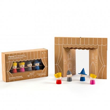 Ξύλινο Επιτραπέζιο Παιχνίδι Οι Παραμυθάδες Milaniwood MIL-PPSA-001